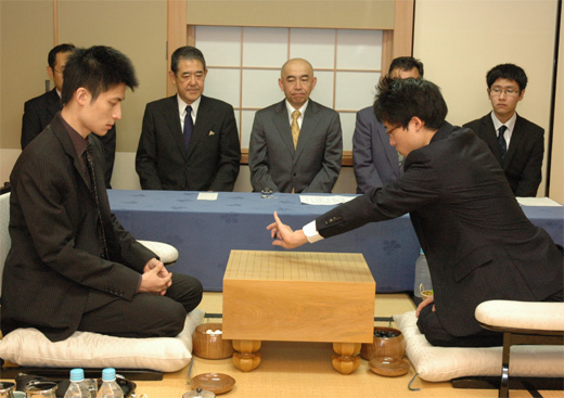 Meijin 2009, game 2